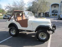 cj jeep interior 1977 jeep cj fully restored 4x4 6 cyl lifted pearl white clean fl