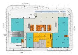 office tower floor plan ice district properties floor 1