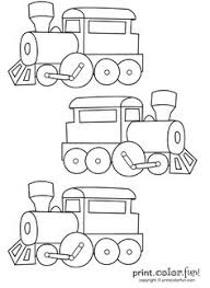 26 free printable train coloring pages birthdays