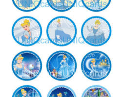 cinderella cupcake toppers winnie the pooh cupcake topper favor tag bag tag candy jar