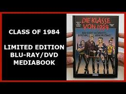 class of 1984 dvd class of 1984 limited dvd mediabook unboxing die