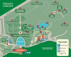 garden map hershey gardens