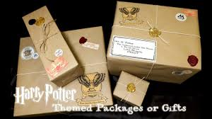 gifts by mail harry potter themed packages or gifts owl post diy harry