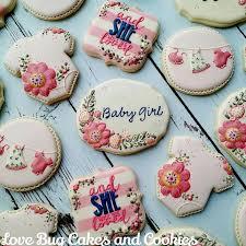 baby shower cookies best 25 baby girl cookies ideas on baby shower