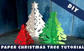 alison u0027s 3d paper christmas tree tutorial diy youtube