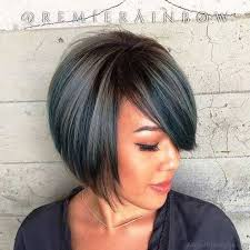 graduated bob with fringe hairstyles 57 cool short bob hairstyle with side swept bands