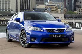 lexus ct200h vs f sport f sport news and information autoblog