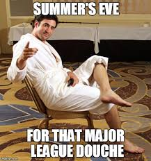 Summers Eve Meme - image tagged in harvey douche imgflip