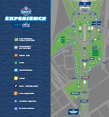 Puerto Rico Road Map by Road Closure Parking And Mass Transit Info For 2017 Nfl Draft In