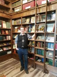 Rolling Bookcase Ladder by Bookstore Blog Tour Episode 2 Hills And Hamlets U2013 Bonnie Clark Books