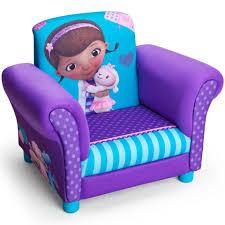 disney junior doc mcstuffins upholstered chair toys