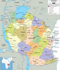 Burundi Africa Map by Maps Of Tanzania Map Library Maps Of The World