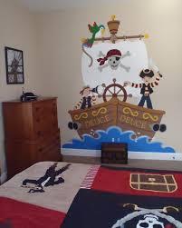 Kids Pirate Bathroom - the buccaneer wall mural diy wall