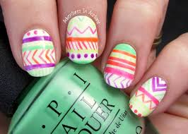 nail art fail opi neons tribal adventures in acetone