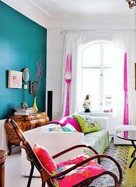 bright l for bedroom amazing colorful living room turquoise wall pink magenta