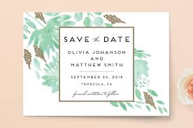 save the date invitations watercolor delight save the date cards by kern minted