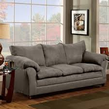 Overstuffed Leather Sofa Overstuffed Couch Wayfair