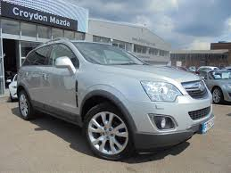 used 2012 vauxhall antara se nav cdti 4wd s s for sale in surrey