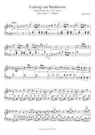 piano sonata no 1 op 2 no 1 beethoven ludwig van imslp