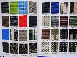 Patio Furniture Mesh Fabric Black 2x2 Textelin Mesh 70 Pvc 30 Polyester For Outdoor Furniture