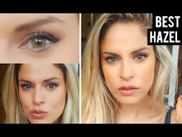 Light Brown Contact Lenses Best Color Contacts For Dark Brown Eyes Solotica Hazel Review