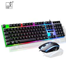 purple led lights for computers zgb g21 keyboard wired usb gaming mouse flexible polychromatic led