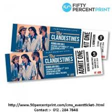 event ticket ticket printing malaysia fifty percent print