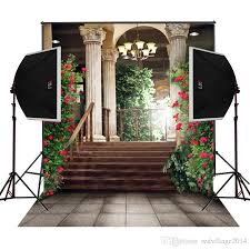 wedding backdrop manufacturers balcony gallary garden blossoms scenic photography backdrops for