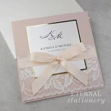 wedding invitation stationery modern blush and gold wedding invitation created by eternal