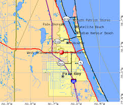 melbourne fl map melbourne florida fl 32904 profile population maps