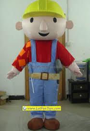 china bob builder character mascot costume china mascot