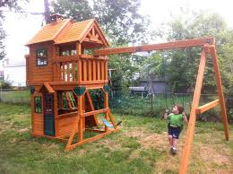 cedar summit playset or what i bought with that advance