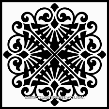 ancient ornamental panel patterns and motifs 1