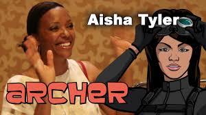 Aisha Meme - archer season 7 aisha tyler interview comic con 2015 youtube