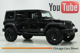 all black jeep wrangler unlimited for sale chicago cars direct presents a 2011 jeep wrangler unlimited sport