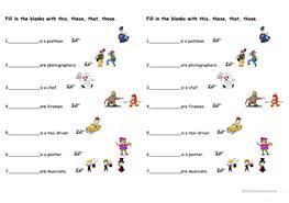 free esl demonstrative pronouns worksheets with demonstrative pronouns from enislcollectivecom