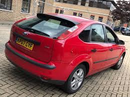 2007 ford focus 1 6 tdci diesel manual 5 seats 5 door hatchback