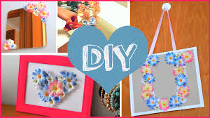 diy cheap room decor ways spice your youtube awesome stuff for girls diy spring room decor cute ideas with fake flowers home theater