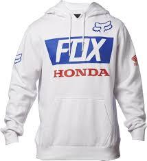 fox motocross hoodies fox racing honda basic mens hoody sweatshirt jackets pullover