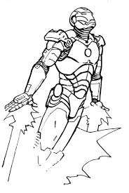 wonderful iron man coloring pages kids http freecoloring