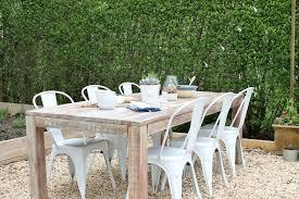 Rustic Wood Patio Furniture Home Design Impressive Outdoor Farmhouse Dining Table Patio
