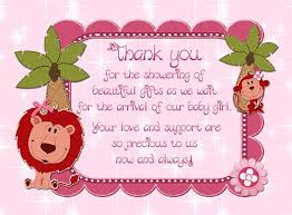 baby shower thank you baby shower thank you poems from baby baby shower ideas