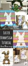 Outside Easter Decor Easter Bunny Door This Guy Is Srsly Genius Easter And Spring