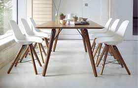 Modern Oak Dining Tables Theo Shell 6 Seater Dining Set District Eight Designs