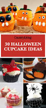 Halloween Cupcakes In A Jar by 30 Halloween Cupcake Ideas Easy Recipes For Cute Halloween Cupcakes