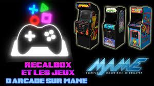 Arcade Meme - recalbox 4 1 raspberry pi 3 et les jeux d arcade sur mame youtube