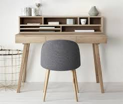 bureau bois design contemporain petit bureau design contemporain meuble bureau ordinateur eyebuy