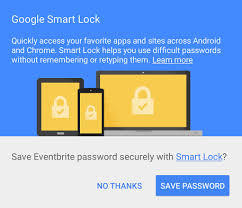 smart lock android store a user s credentials smart lock for passwords on android