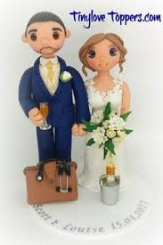 family wedding cake topper non edible and personalised to look