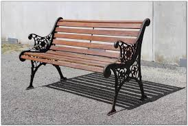 iron park benches cast iron park bench kit stools amp ottomans siteforms park bench